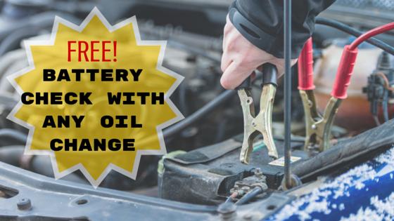 Free battery check Oldsmar Auto